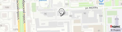 Компания по изготовлению корпусной мебели под заказ на карте Кирова