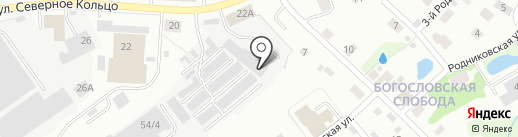 Ярис на карте Кирова