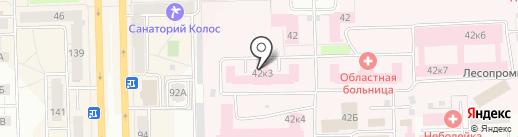 Городская аптека №206 на карте Кирова