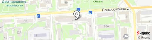 Халва на карте Кирова