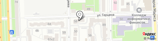 За Россию на карте Кирова
