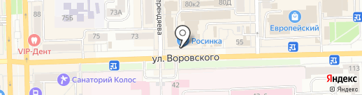 Epatage на карте Кирова