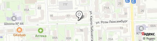 Энергострой на карте Кирова