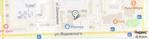 Фаворит на карте Кирова
