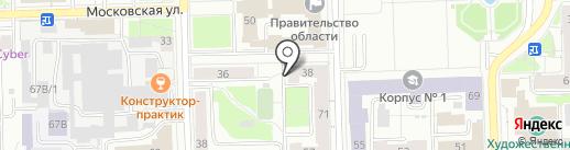Полиграфычъ на карте Кирова