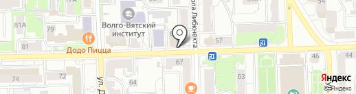 Доктор Борменталь на карте Кирова