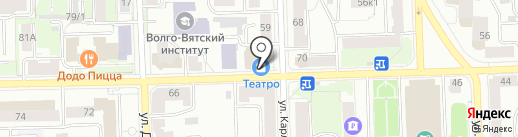 Банкомат, АКБ Авангард, ПАО на карте Кирова