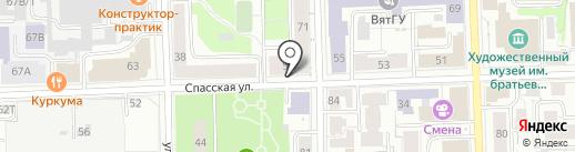 Kushova Make Up School на карте Кирова