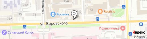 Наше Вятское на карте Кирова