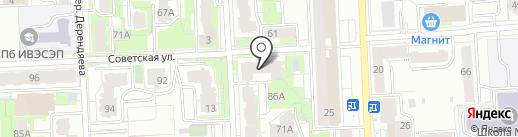 Кабинет красоты на карте Кирова