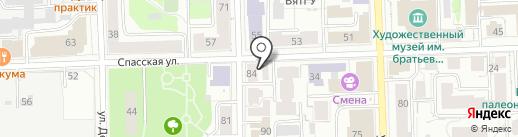 Бодрый день на карте Кирова