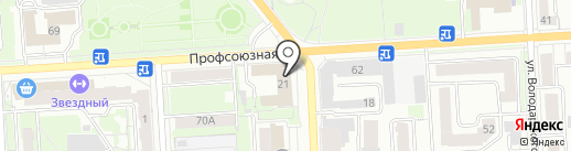 АСГАРД на карте Кирова