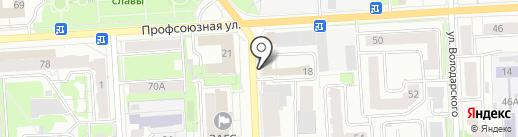 КБ-43 на карте Кирова