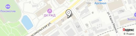 Ливада на карте Кирова