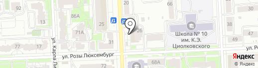 Банкомат, Почта Банк, ПАО на карте Кирова