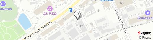 ЛЕТО на карте Кирова