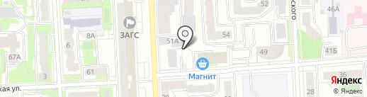 Федерация тхэквондо Кировской области на карте Кирова