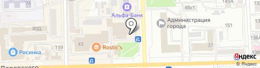 Инвестиционный центр, КПК на карте Кирова