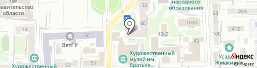 СoffeeSprint43 на карте Кирова