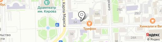 Храм святой великомученицы Екатерины на карте Кирова
