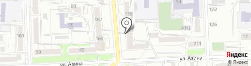 Блошка на карте Кирова