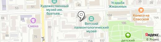 Самадхи на карте Кирова