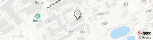 Дуэт на карте Кирова