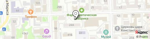 Участок Капитального Ремонта-1 на карте Кирова