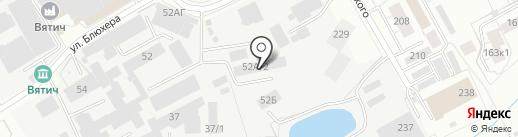 Сальвия на карте Кирова