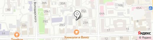 Правовая защита на карте Кирова