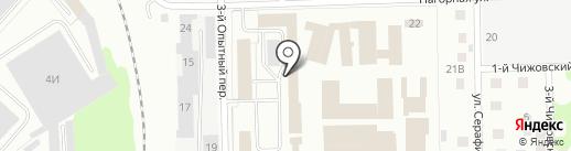 Горбушка на карте Кирова