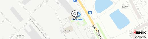 Домакс на карте Кирова