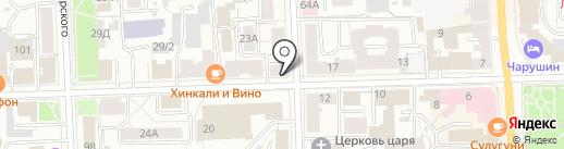 Цветочный дискаунтер на карте Кирова