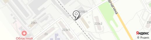 Строительный Мир на карте Кирова