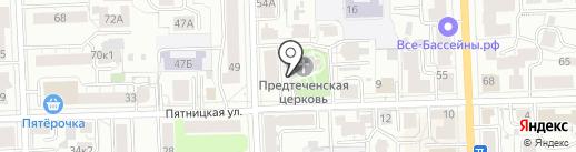 Церковь Иоанна Предтечи на карте Кирова