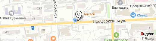 БЛИСС ОТЕЛЬ & СПА на карте Кирова