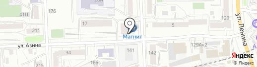 Русон на карте Кирова