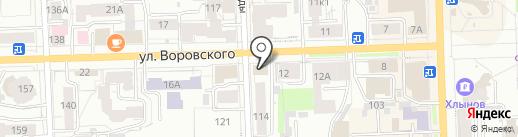 Продуктовый магазин на карте Кирова
