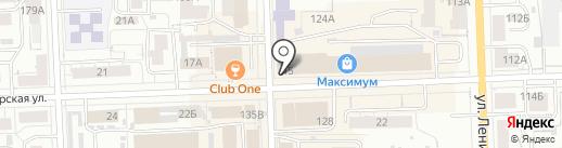 Настоящие продукты на карте Кирова