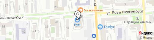 SMART на карте Кирова