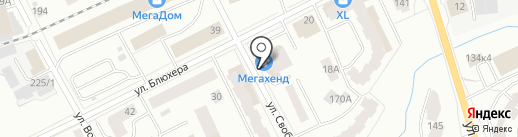 Мегахенд на карте Кирова