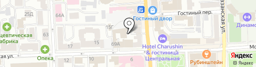 Мастерская по пошиву и ремонту обуви на карте Кирова