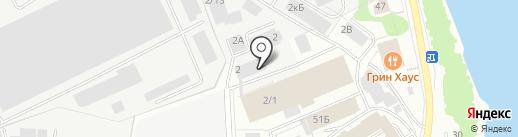 Металлическая мебель и Сейфы на карте Кирова