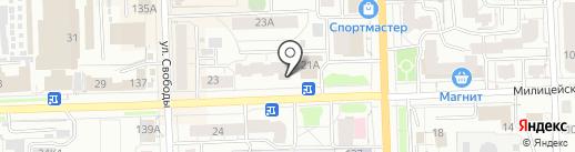 МИКРОФИНАНСОВАЯ ОРГАНИЗАЦИЯ ВДМ-ФИНАНС на карте Кирова