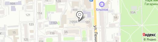 P Y X I S на карте Кирова