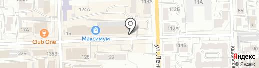 MODIS на карте Кирова