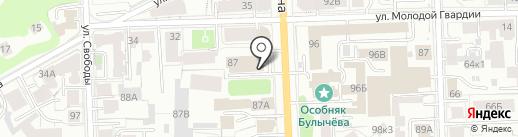 Рай на карте Кирова