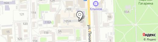 Вятский центр дополнительного образования, АНО на карте Кирова