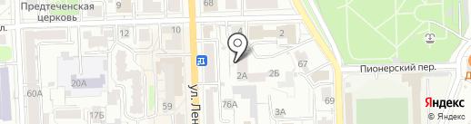 ЦДС на карте Кирова