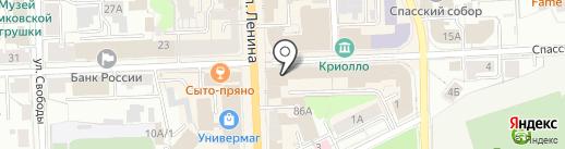 Тюльпан на карте Кирова
